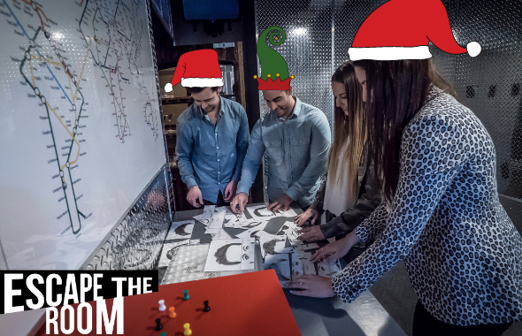 Escape Rooms are the Perfect Holiday Season Get-Together - Escape Rooms are the Perfect Holiday Season Get-Together